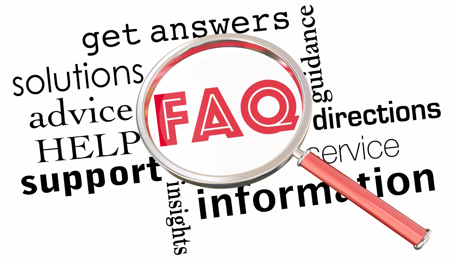 Questions and Answers - A sampling of frequently asked questions about our complete range of services.