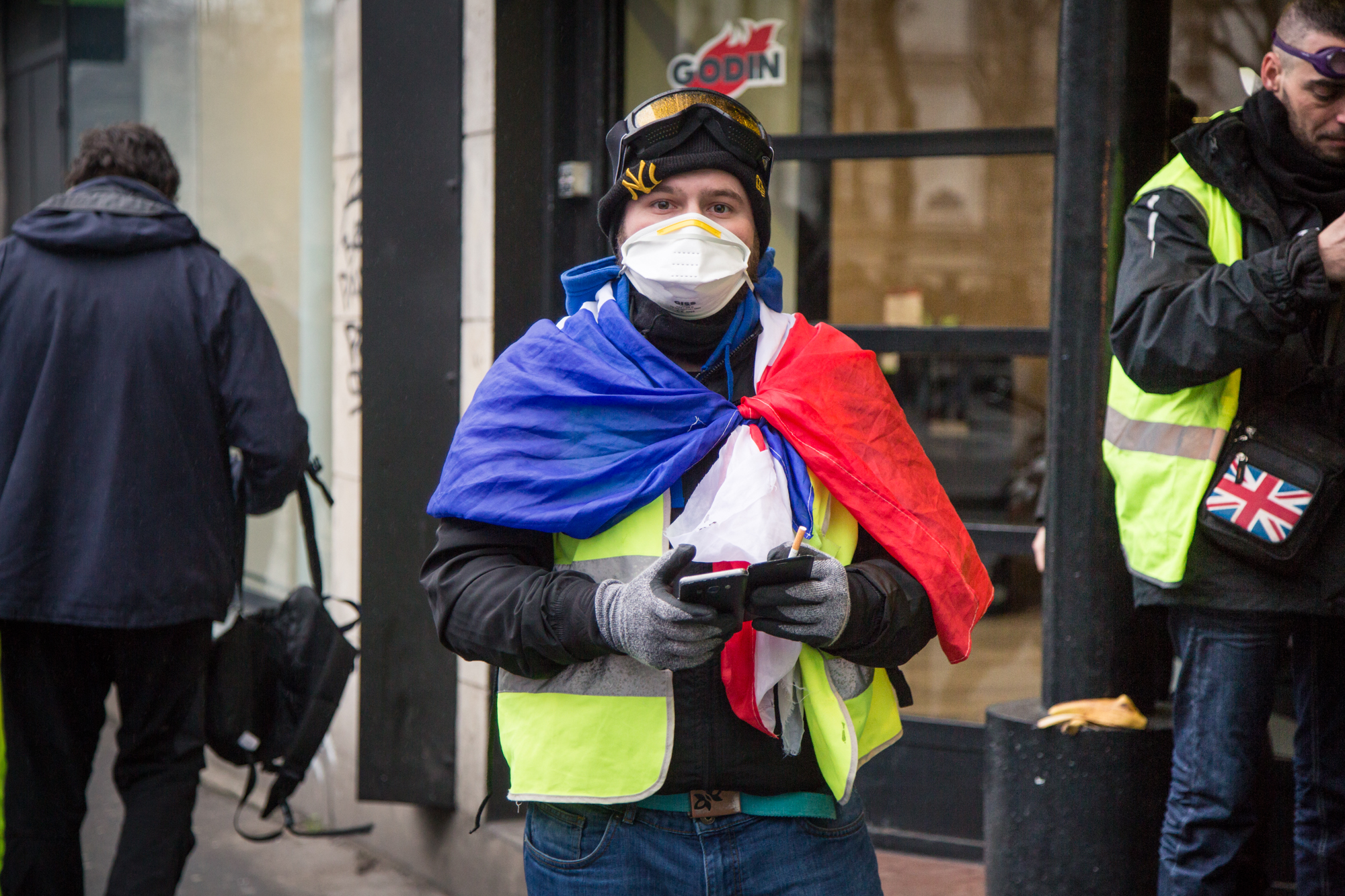 Gilets Jaunes, acte xi, Paris, 26/01/19