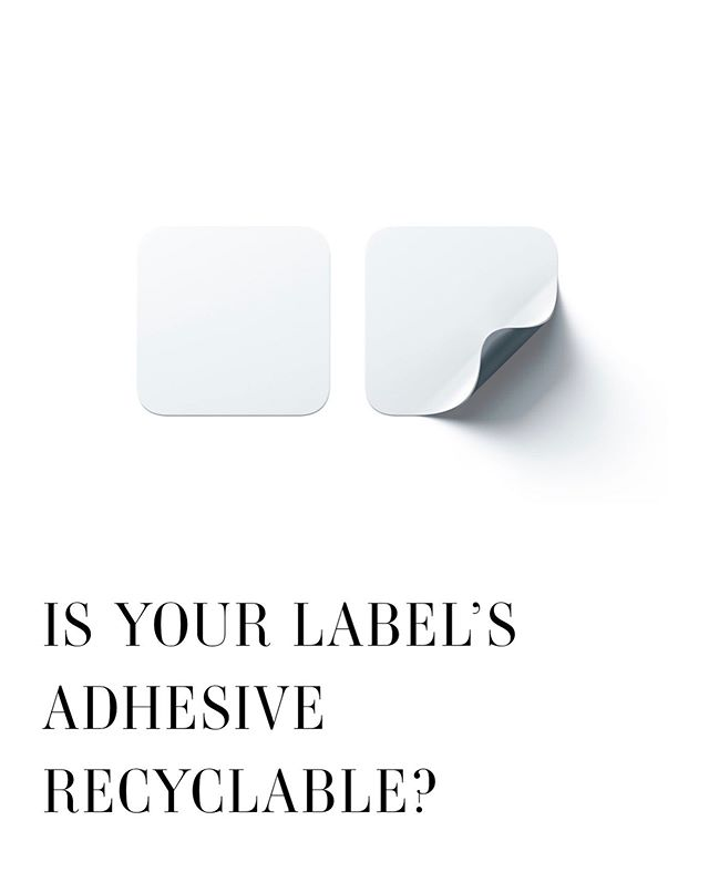 Is your label's #adhesive #recyclable? Today on the Derksen Co. #blog, we're talking about Recycling Compatible Adhesives (RCAs) and the evolution of recyclable #labels. As part of our Sustainability 101 posting series, we're covering this component of #labelproduction and talking about how you can improve your label's impact by integrating #environmentallyfriendly adhesives into your #label production. Click the link in our bio to read the full post!