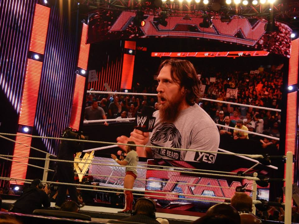 Daniel Bryan is once again WWE Champion and will face Brock Lesnar at Survivor Series this weekend.  (Photo by Mike Pankow)