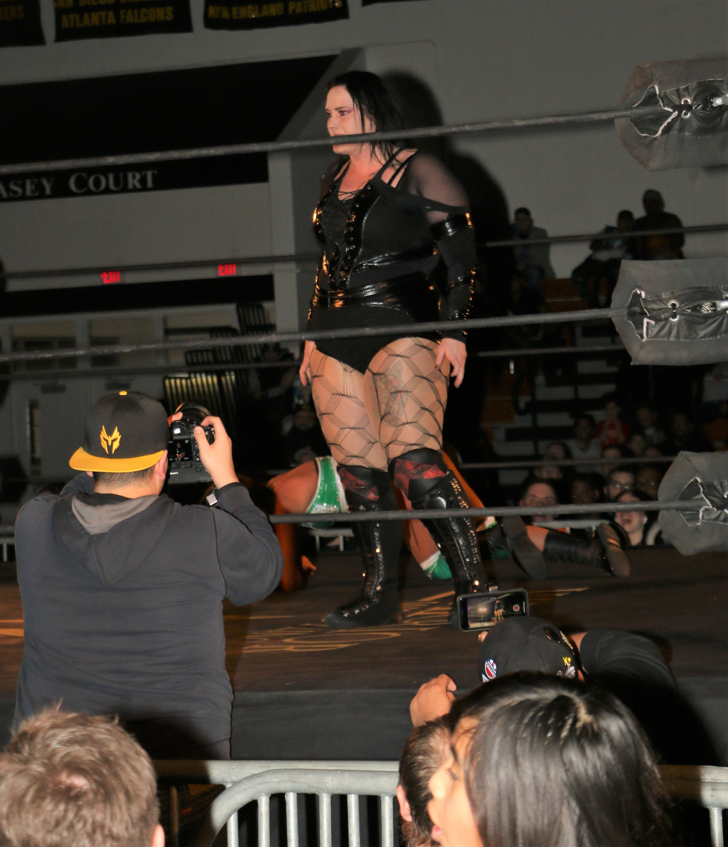 Jessicka Havok interferes in the match, causing a no-contest and makes her presence known.