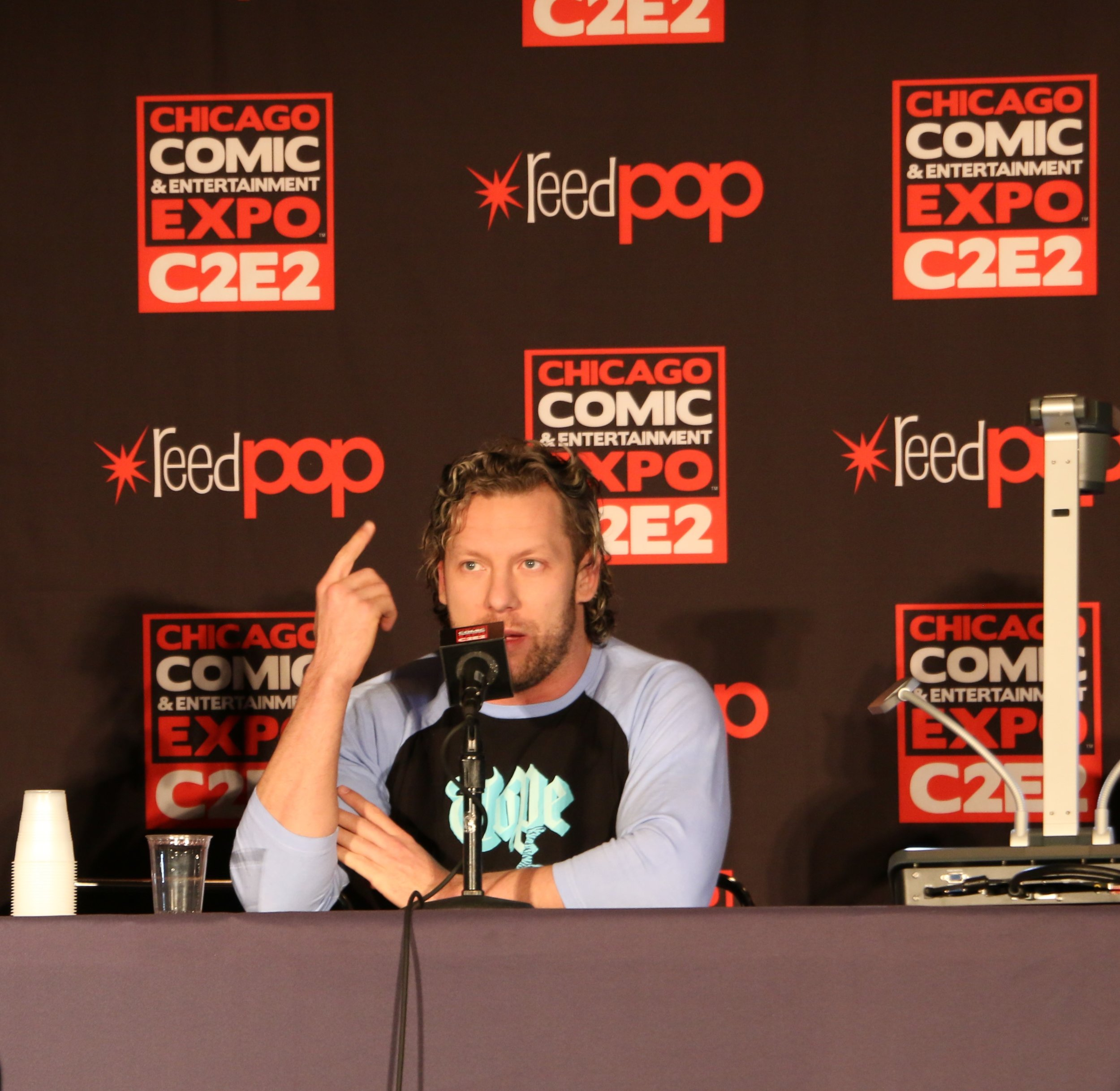 Kenny Omega discussed video games and an upcoming documentary during the All Elite Wrestling panel.