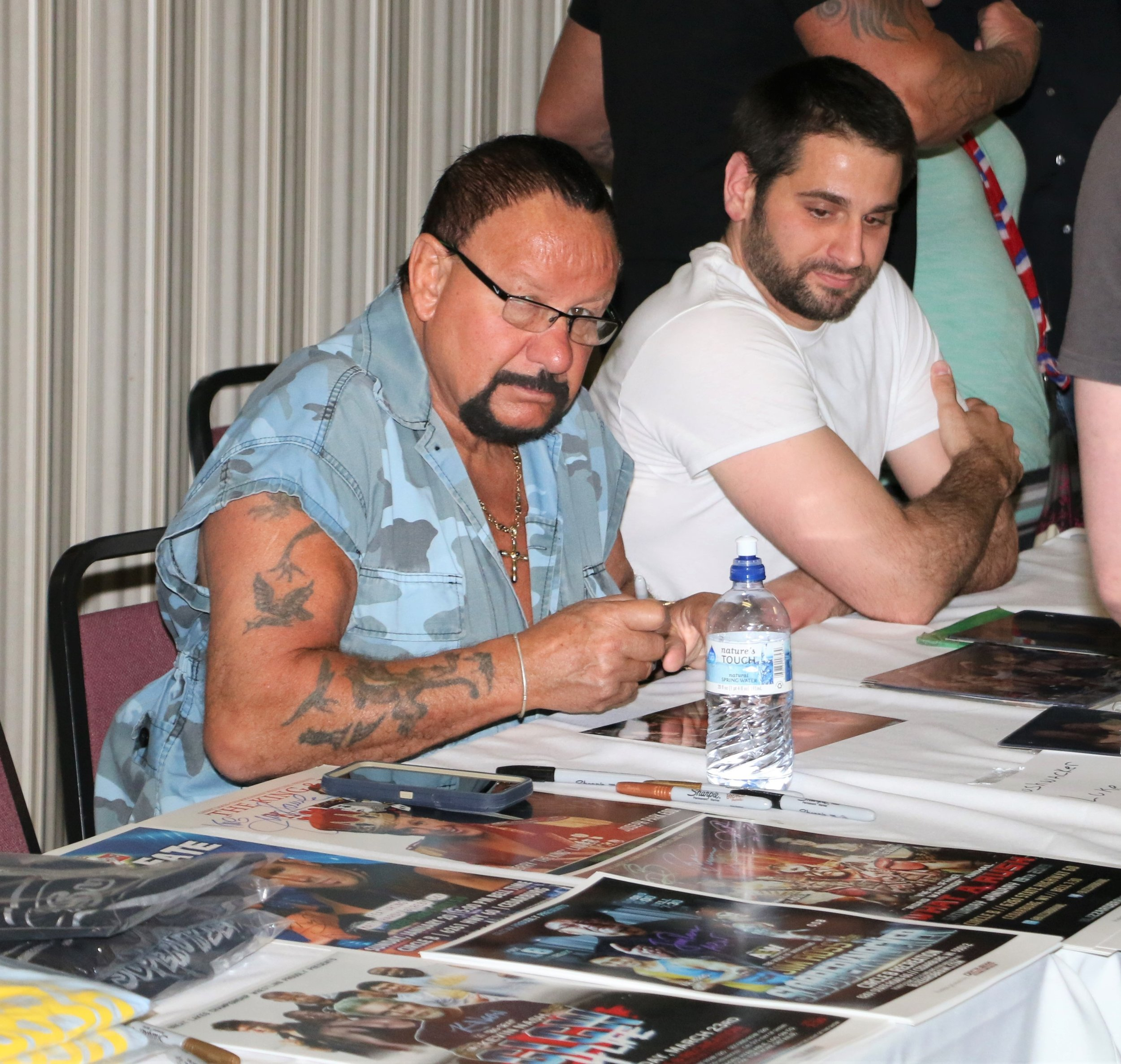 Bushwhacker Luke during the VIP Meet and Greet before the show.