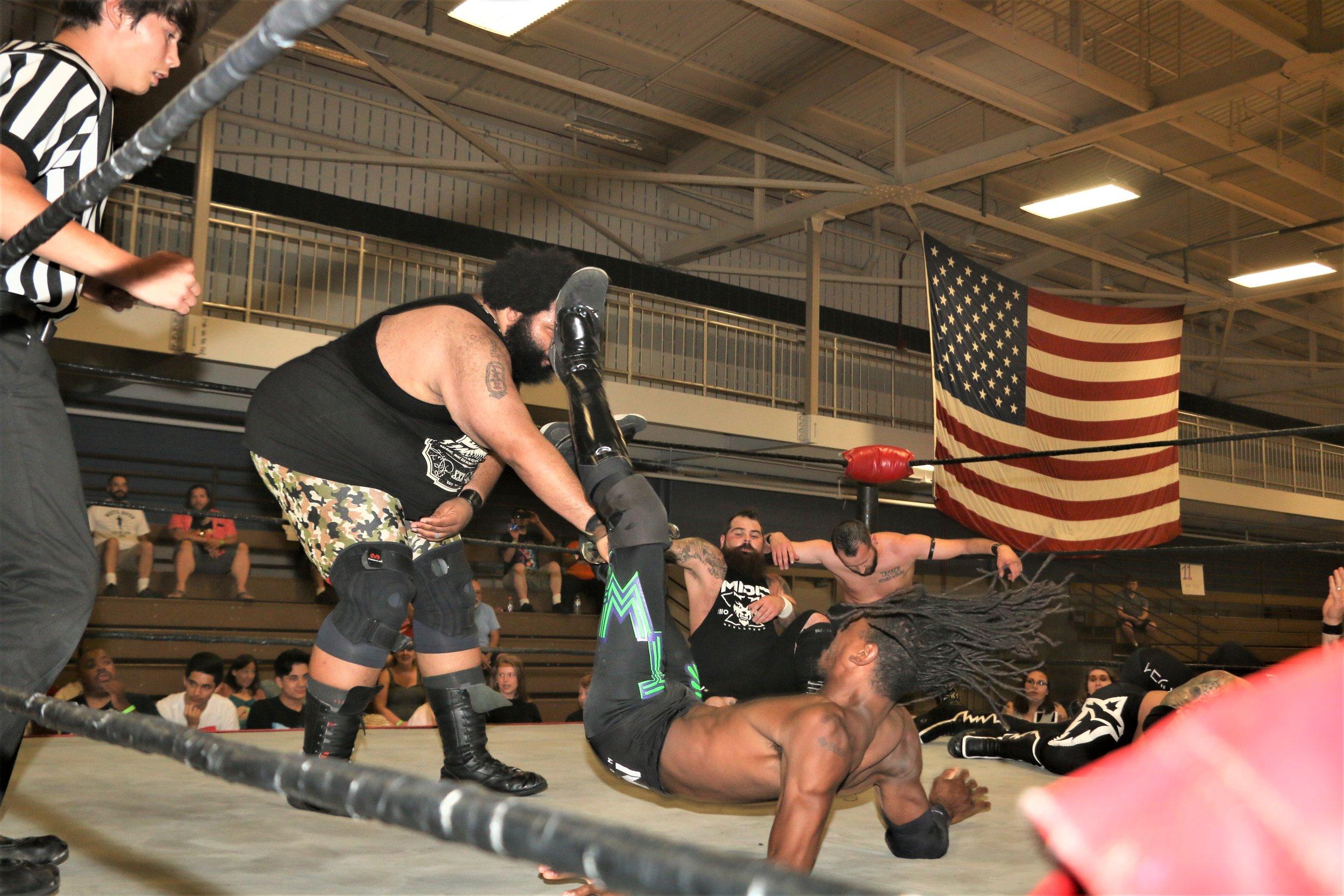 Backwoods Brown slams down TW3.