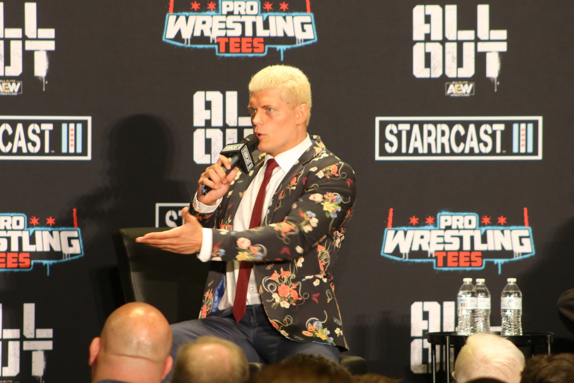Cody Rhodes spent a decade under the WWE umbrella, but he now is breaking out as part of All Elite Wrestling. He will face Shawn Spears at All Out in suburban Chicago on Saturday night.  (Photo by Mike Pankow)