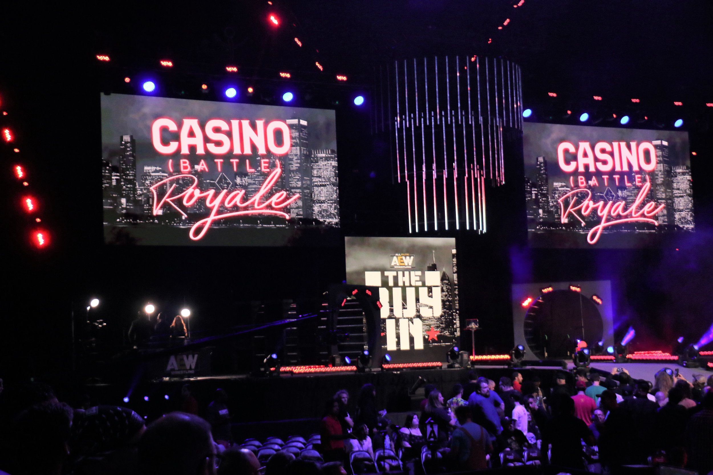 The Casino Battle Royale to determine a top contender for the AEW Women's Championship.
