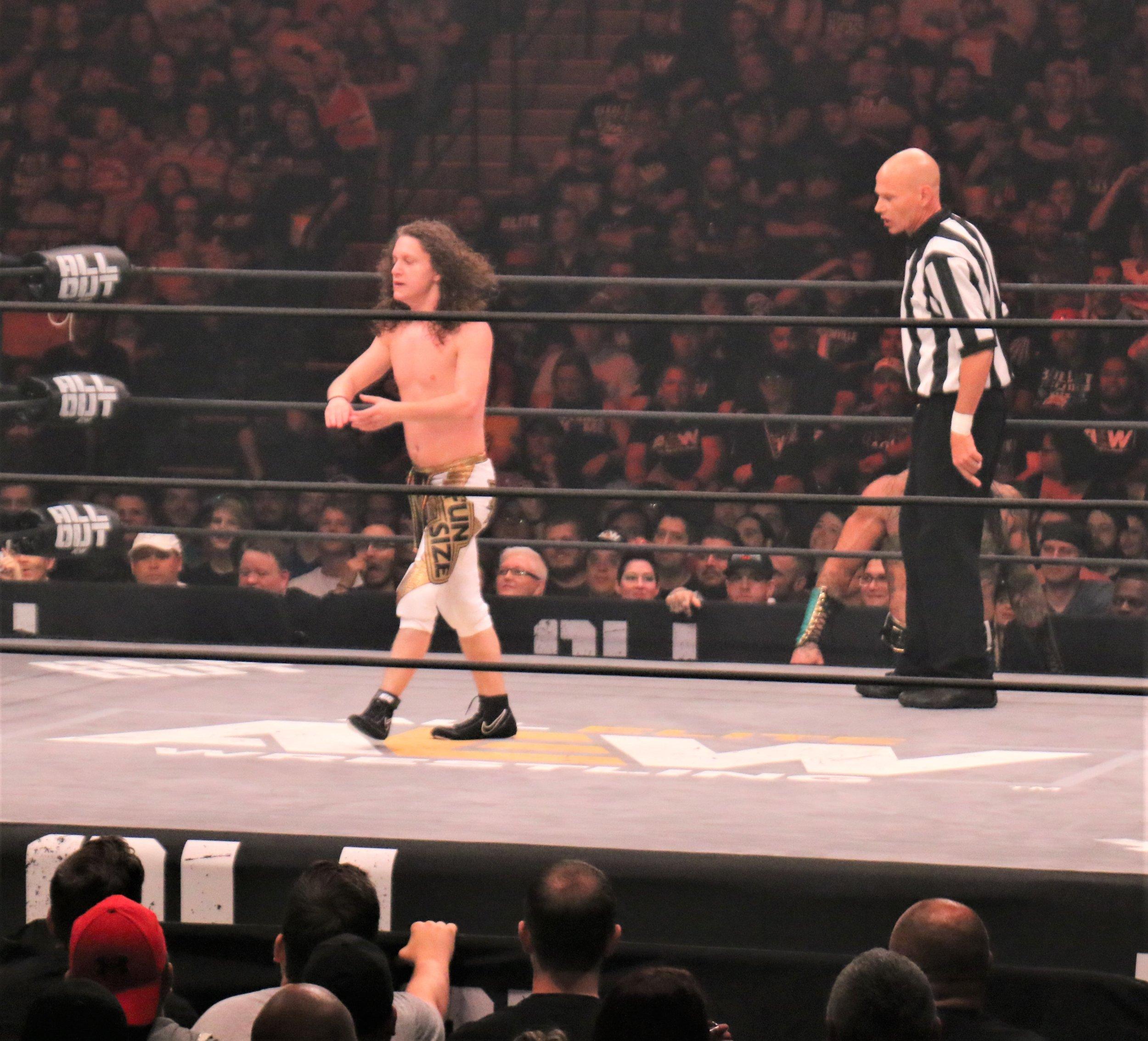 Marko Stunt in the ring.