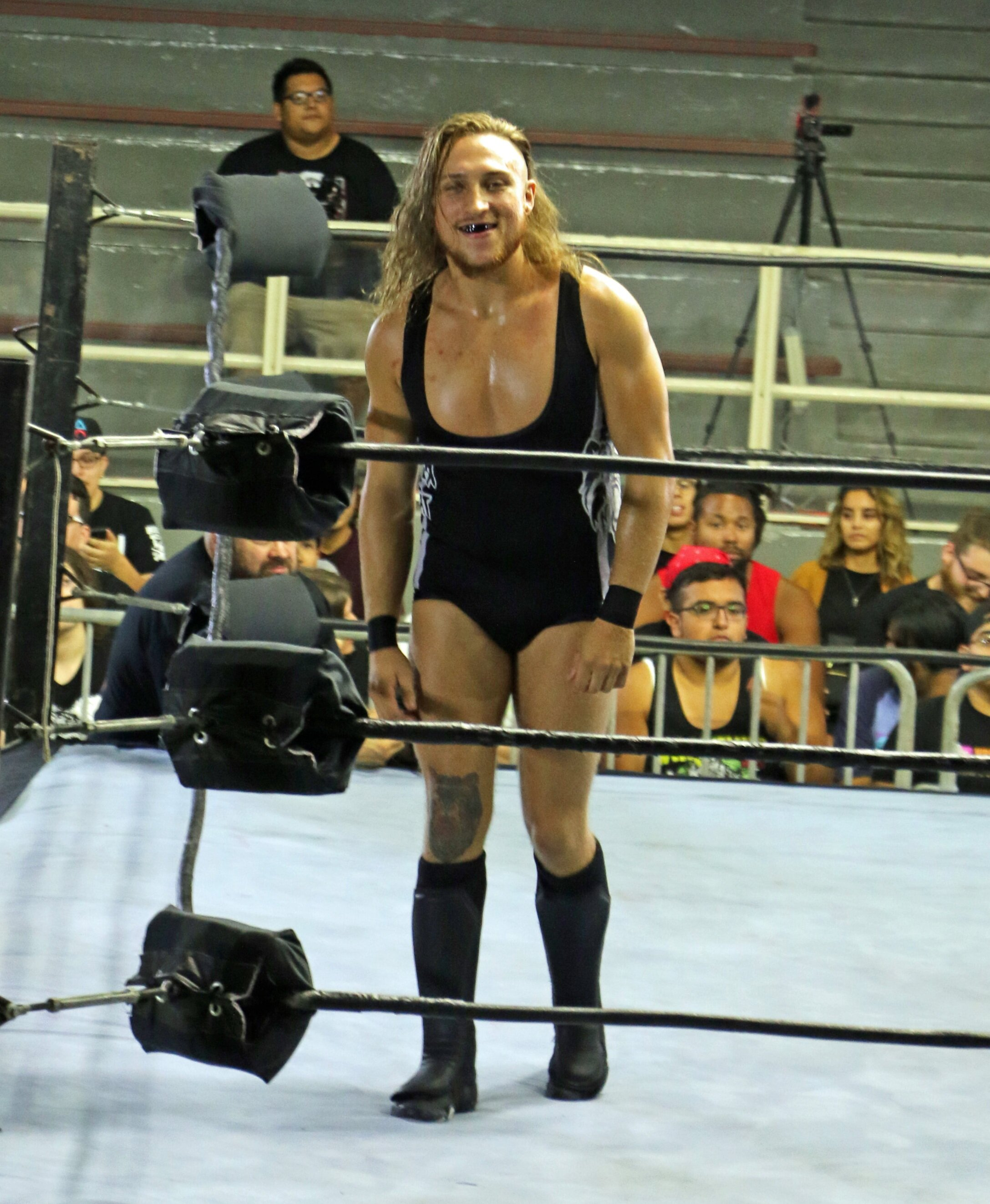 Former WWE United Kingdom Champion Pete Dunne is now an integral part of NXT. He was the victim of an attack from Damien Priest on Wednesday' live NXT show on USA Network.  (File photo by Mike Pankow)