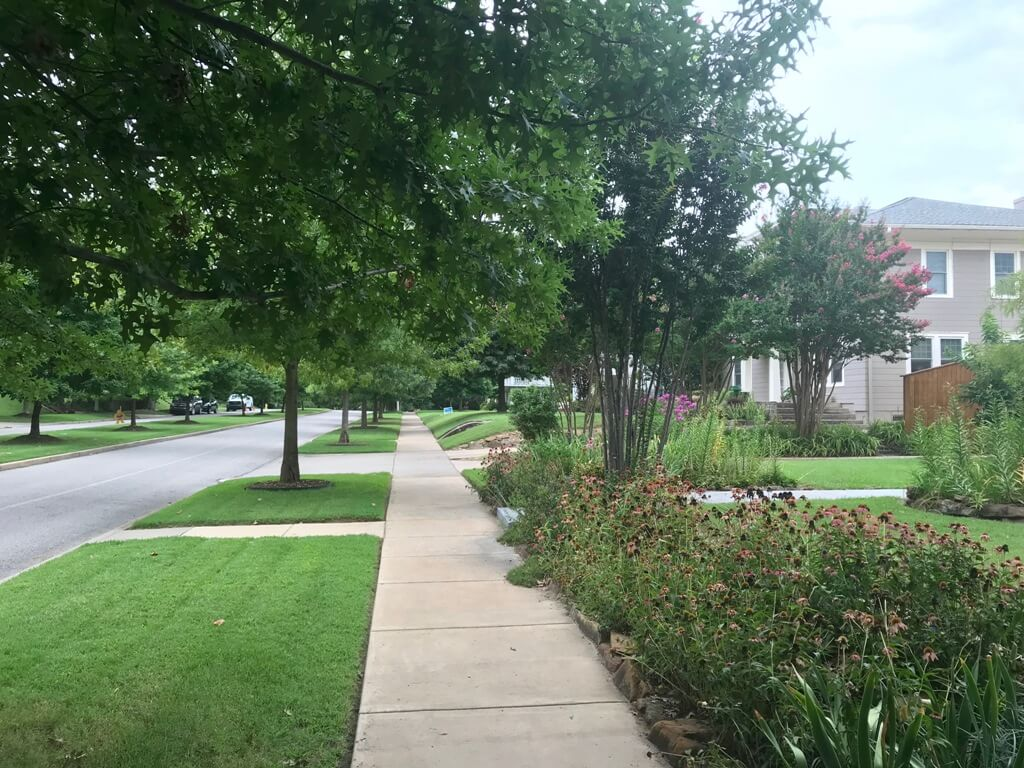 Maple Ridge Running and Jogging and Bike Trails - Midtown Area Tulsa Realtors and Houses for Sale