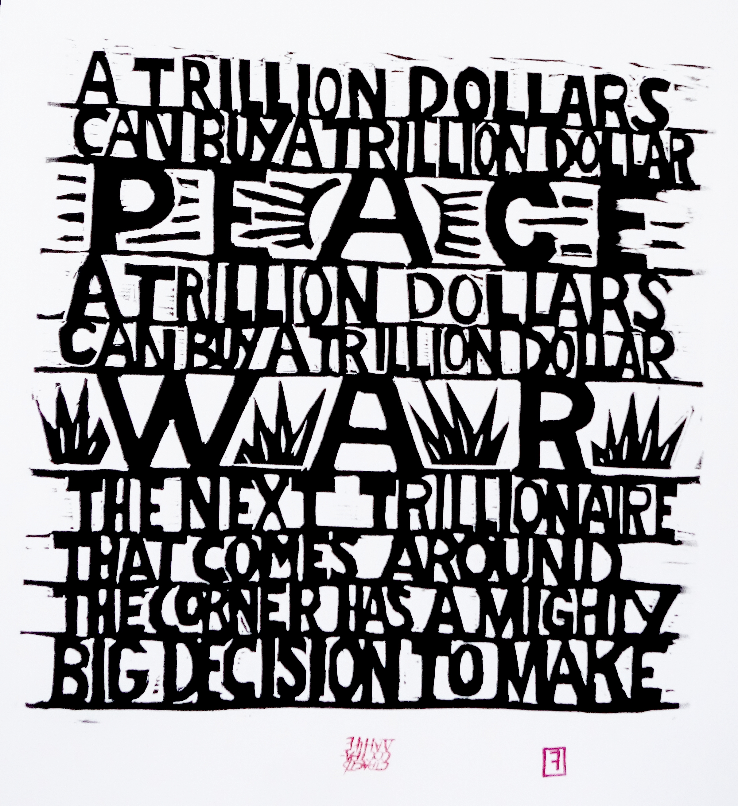 A Trillion Dollars...