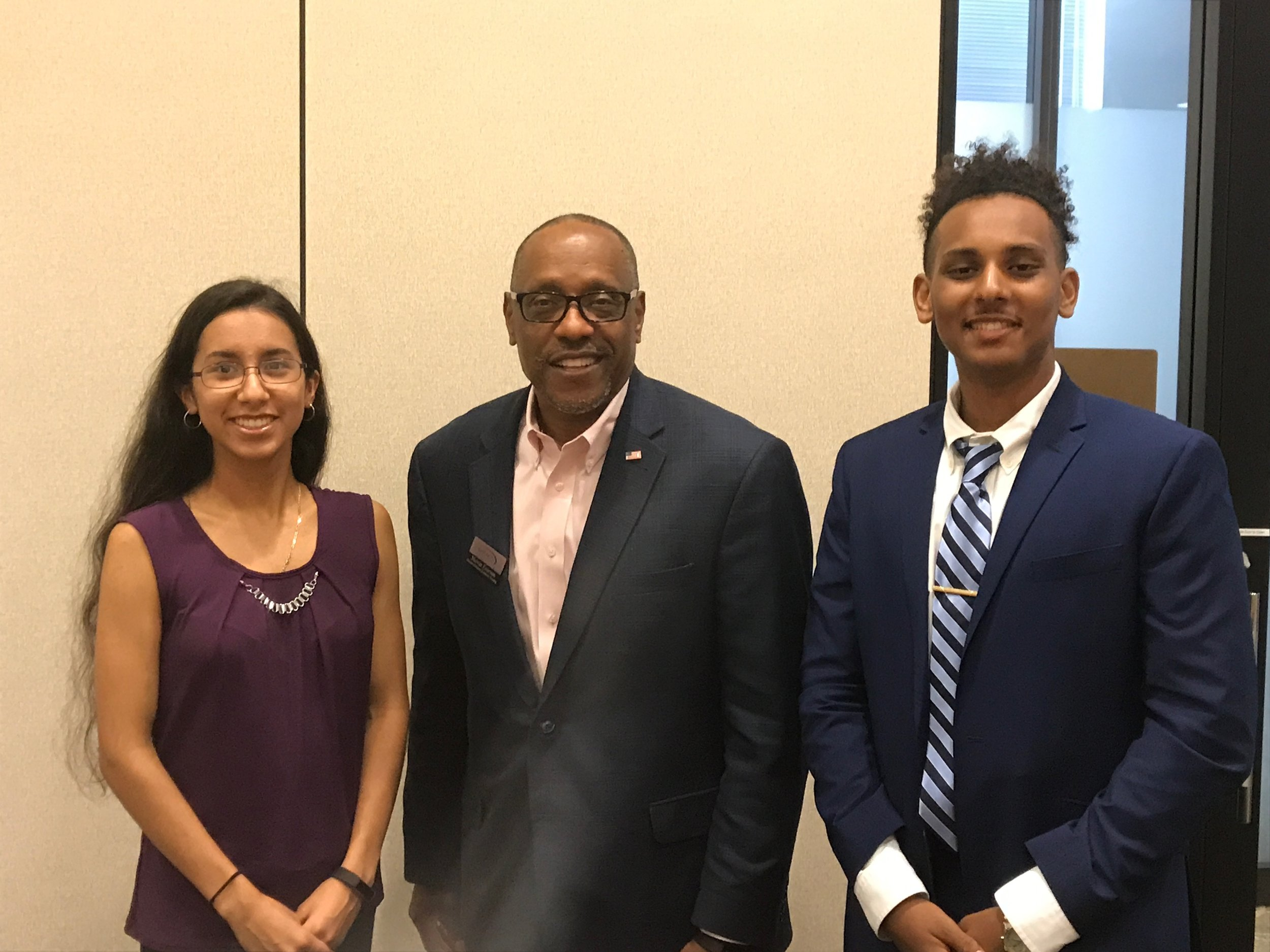 Meeting with Melvin Everson (Director at Gwinnett Tech and Former Representative)