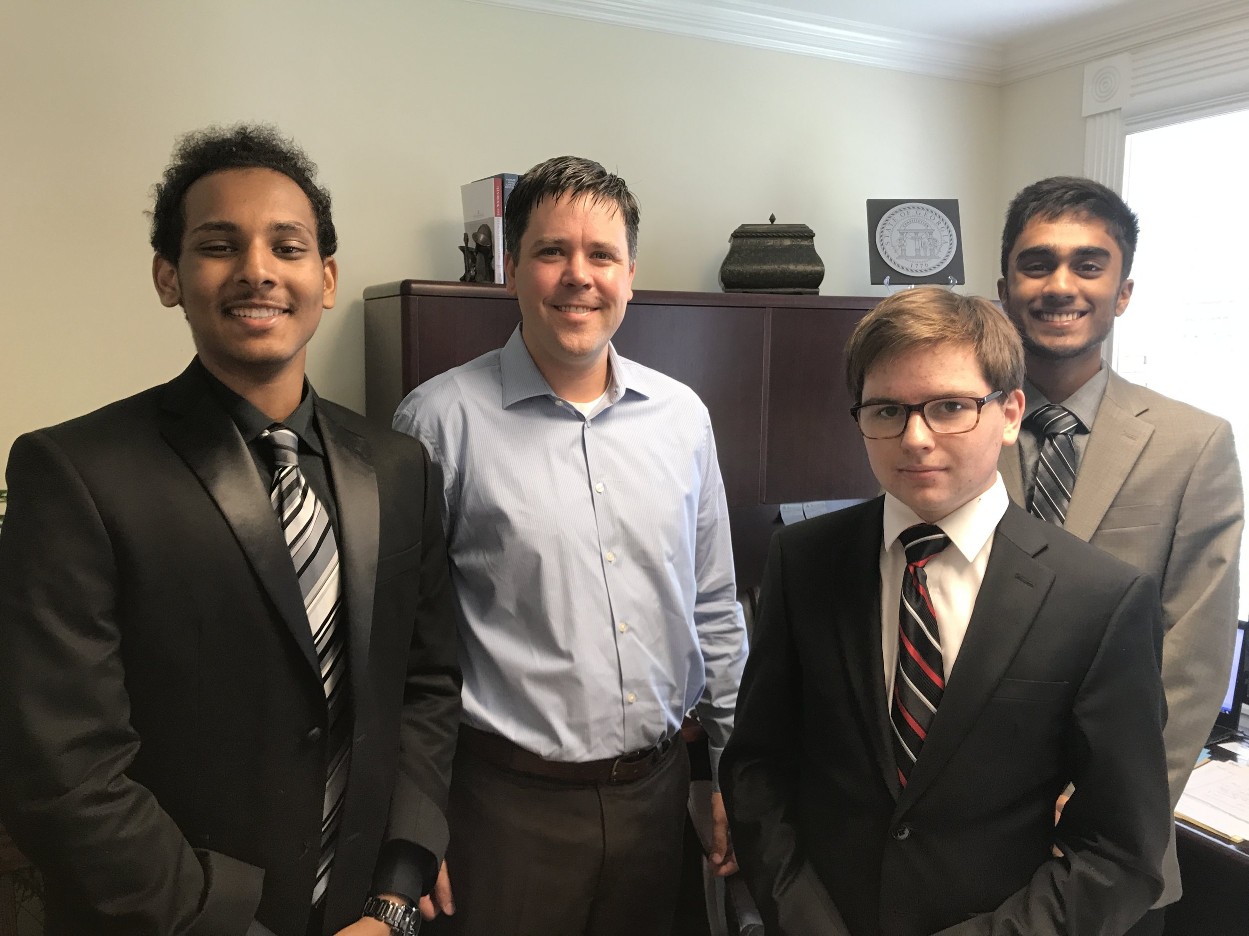 Meeting with PK Martin (State Senator and with Hood Insurance)