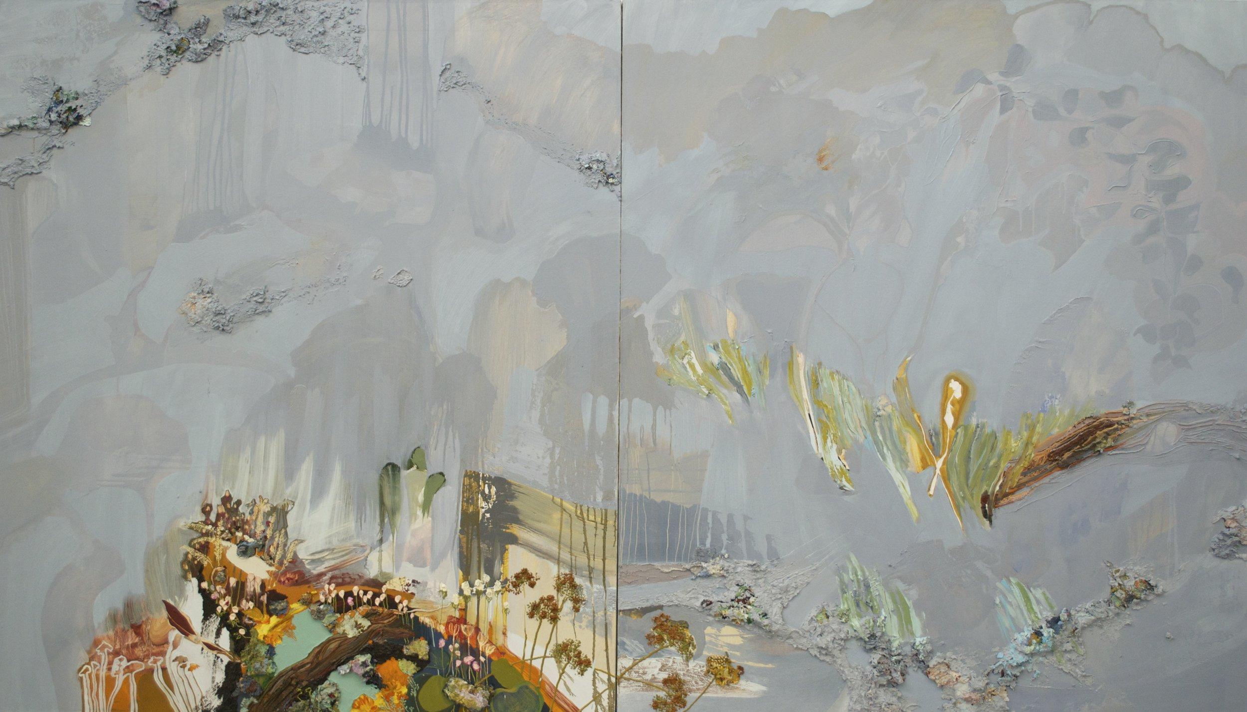 Beneath the Veil (Diptych)