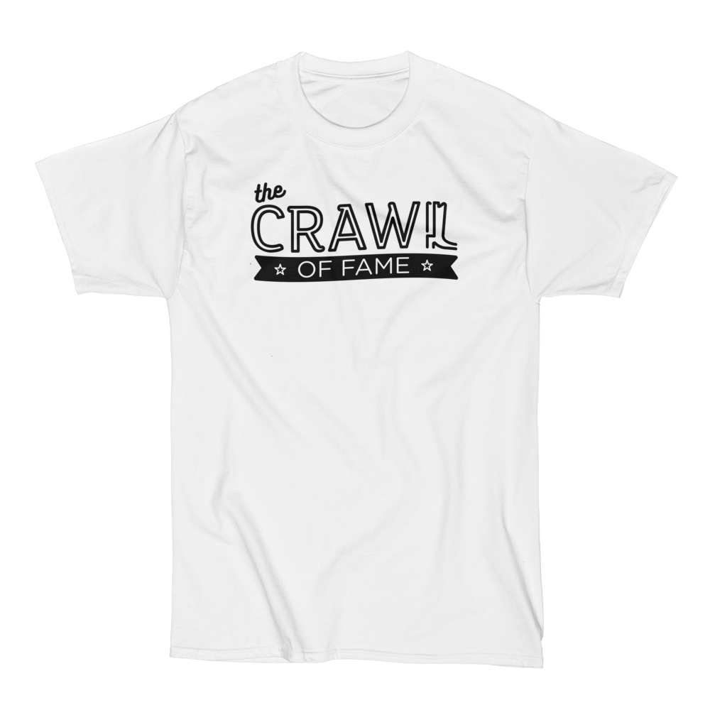Crawl Of Fame T-Shirt Black Logo Nashville Tours.png