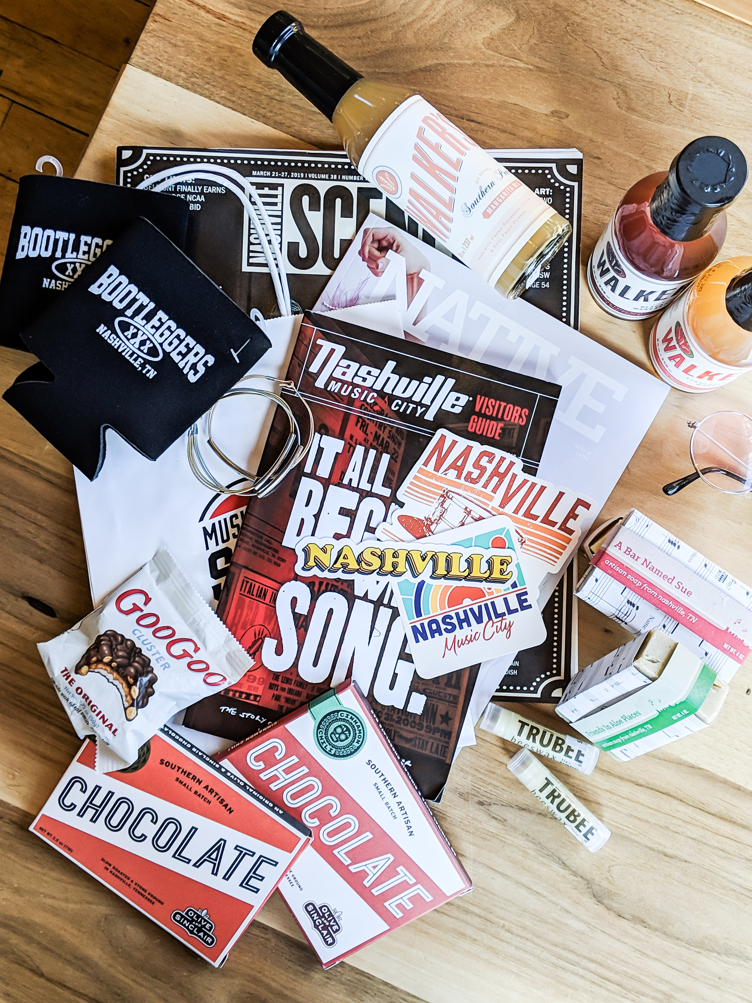 Nashville local products included in our giveaway!