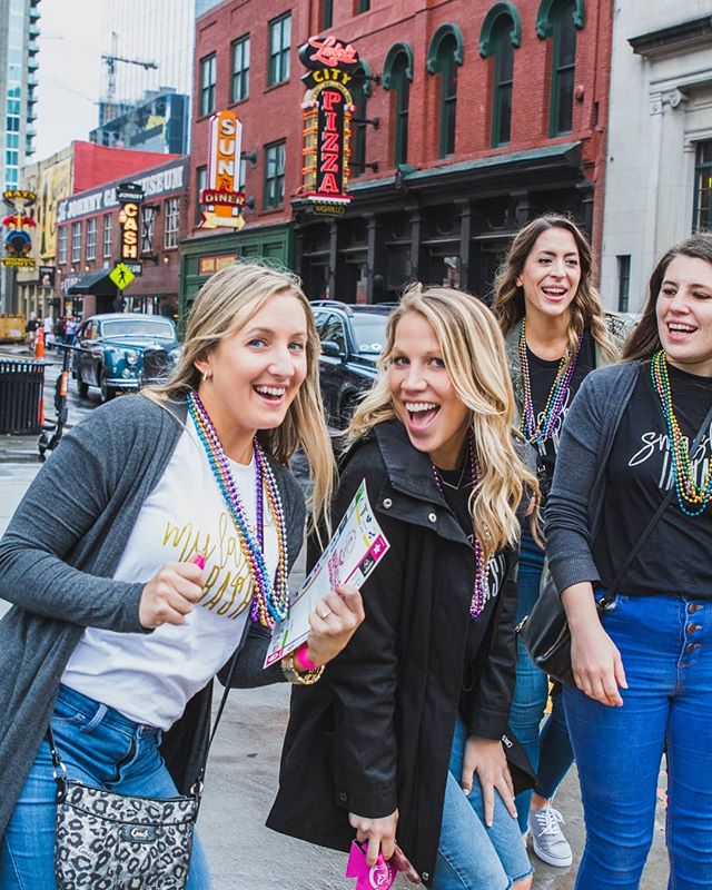 When all the wedding planning is finally done. 🙋🙋🙋🙌🙌🙌 . . . #bacheloretteparty #bachelor #bachelorette #nashville #nashvilletn #tennessee #broadway #party #isaidyes