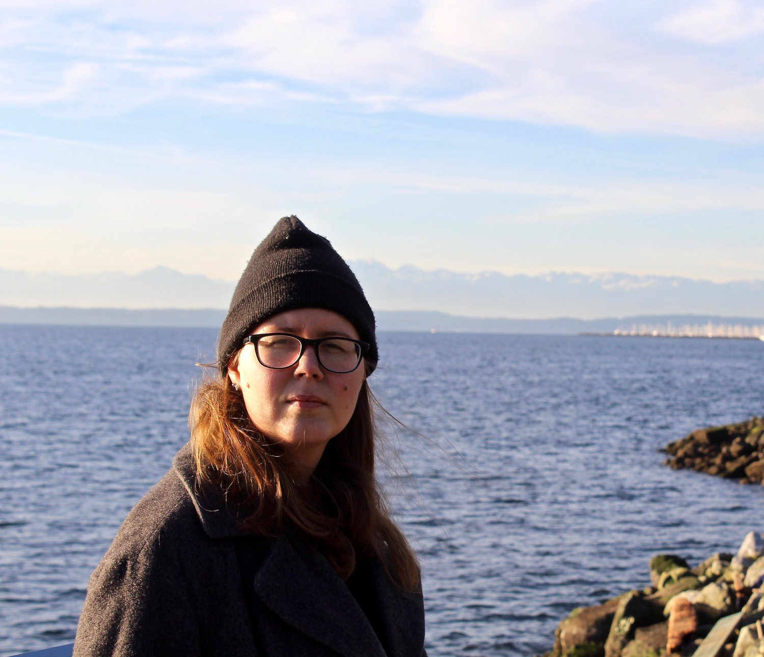 Thoughts from the Composer: Jessi Harvey - who created half of the sound score for Sea Change Within Us, weaving the process of sea ice throughout the string quartet, speaking about joyfully crunching. Listen to the score as you read by clicking here.