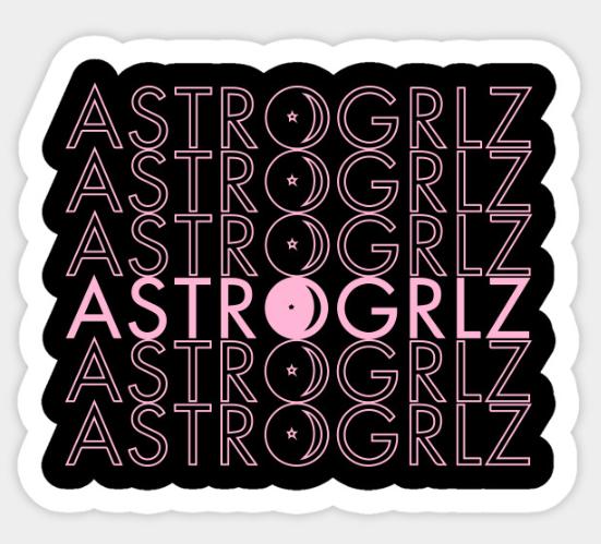 Astrogrlz6 Sticker