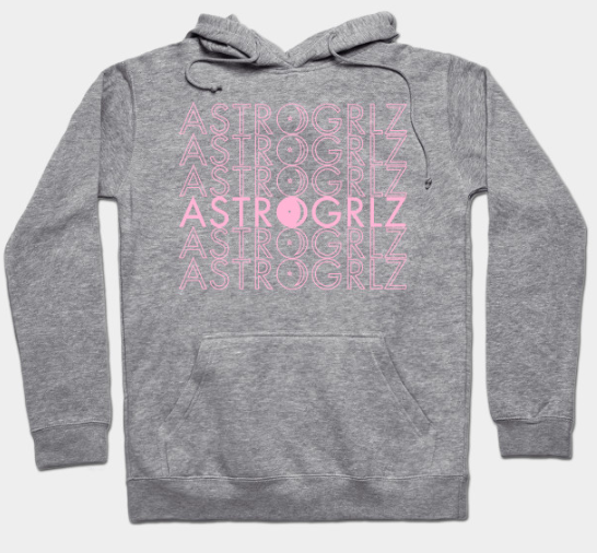 Pink Astrogrlz6 Hoodie