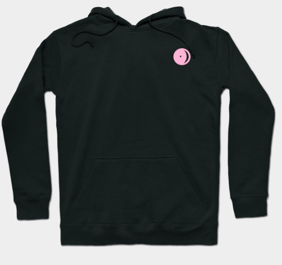 Pink Astro Logo Hoodie