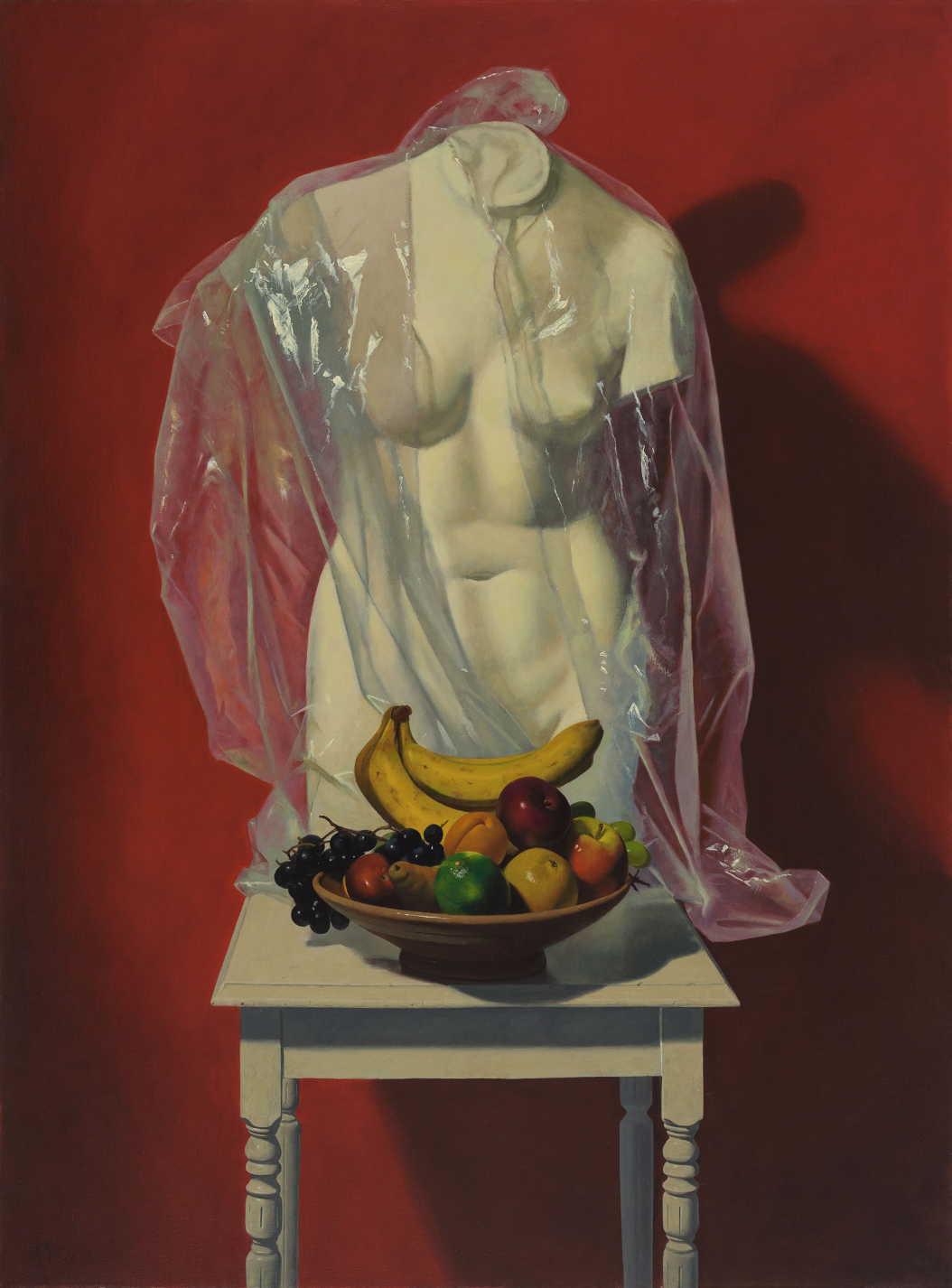 Ron Monsma, Specter  Oil on Canvas, 46x34 in.