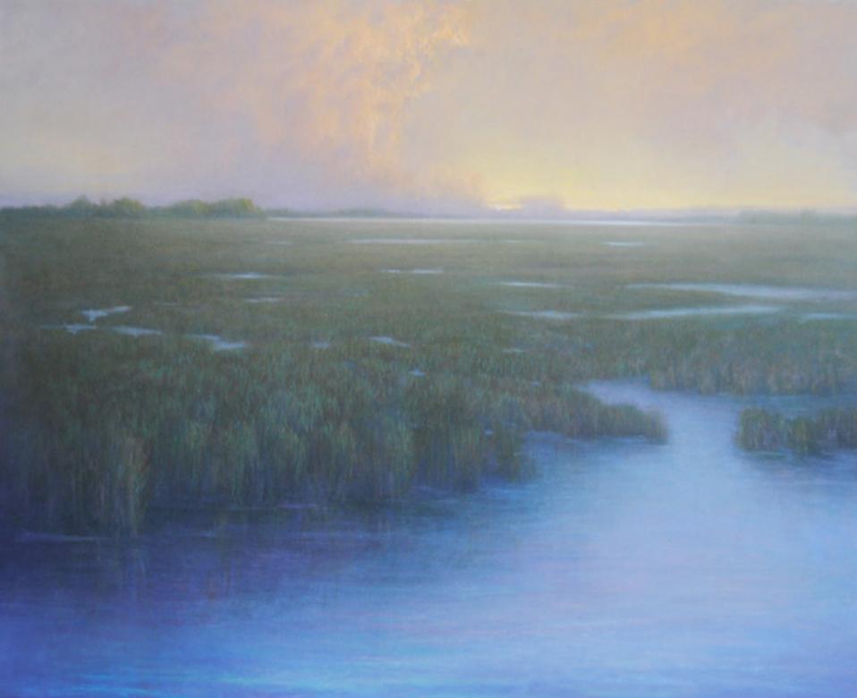 Ober-Rae Starr Livingstone, We Awaken  Acrylic on Canvas, 36x44 in.