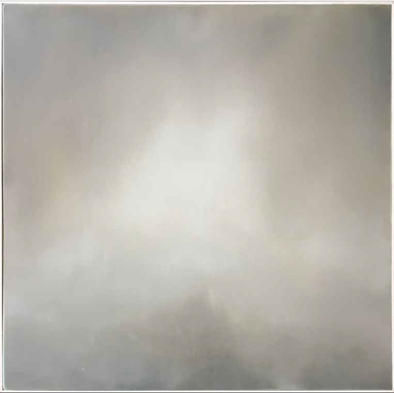 Matthew C. Metzger, Mountains in Fog III  Oil on Wood Panel, 24x24 in.