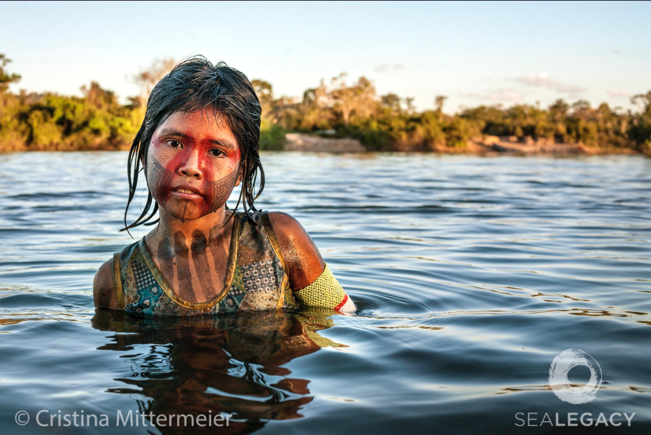 Cristina Mittermeier, Xingu  Digital Chromogenic Print on William Turner Cotton, 20x30 in.