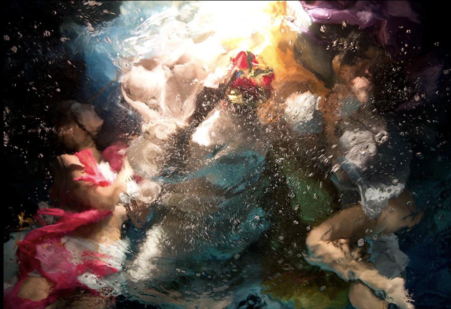 Christy Lee Rogers, All Colors Bleed into One  Archival Pigment Print, 57x83 in.