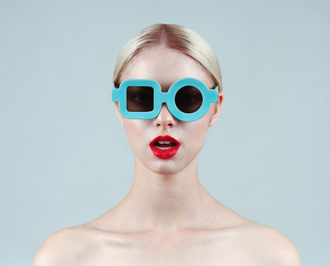 TYLER SHIELDS, Glasses  Digital Chromogenic Print, 40in. x 32in.