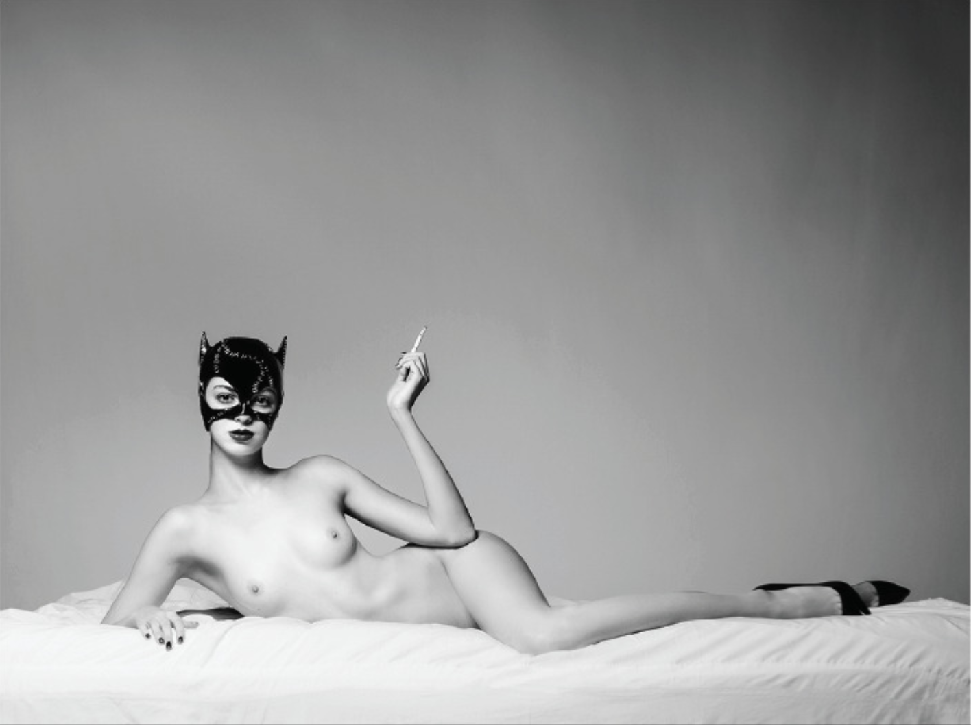 Tyler Shields, The Cat  Digital Chromogenic Print  45 x 60 in.