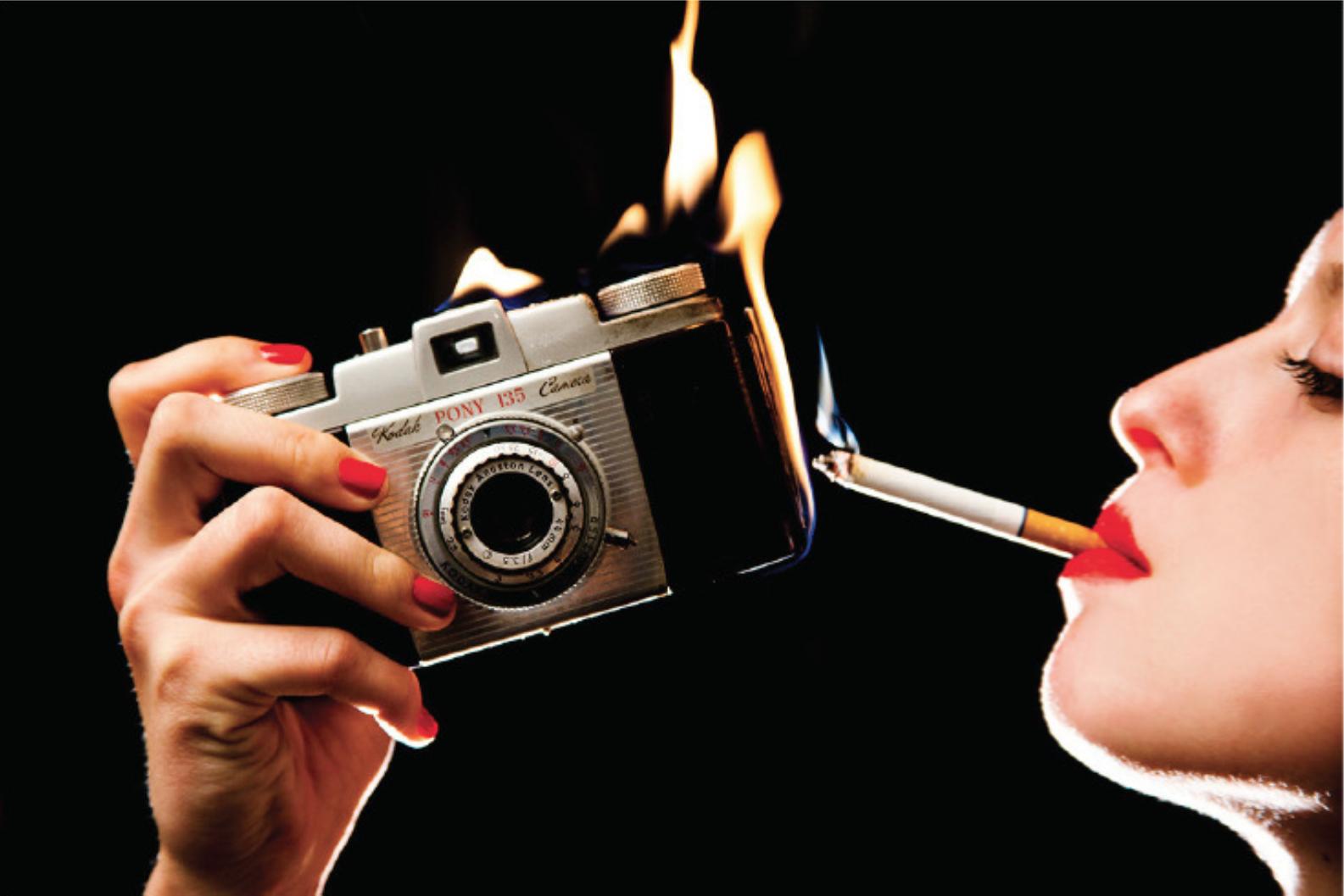 Tyler Shields, Kodak  20 × 30 in; 50.8 × 76.2 cm
