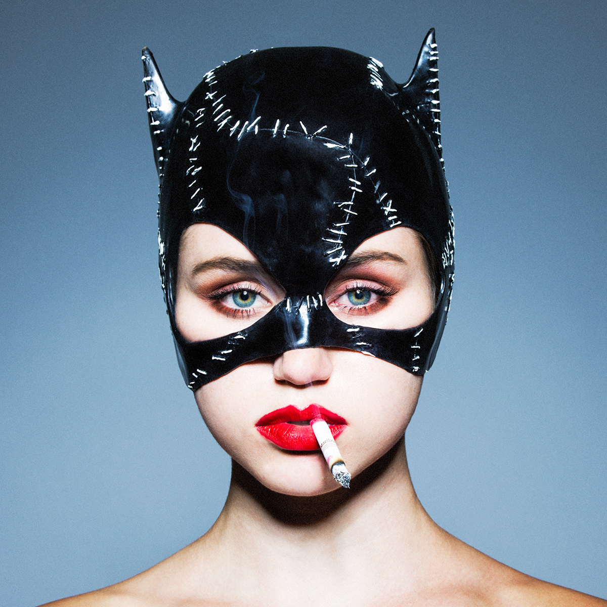 Tyler Shields, Cat Woman  Dye Transfer Print, 18 × 18 in; 45.7 × 45.7 cm