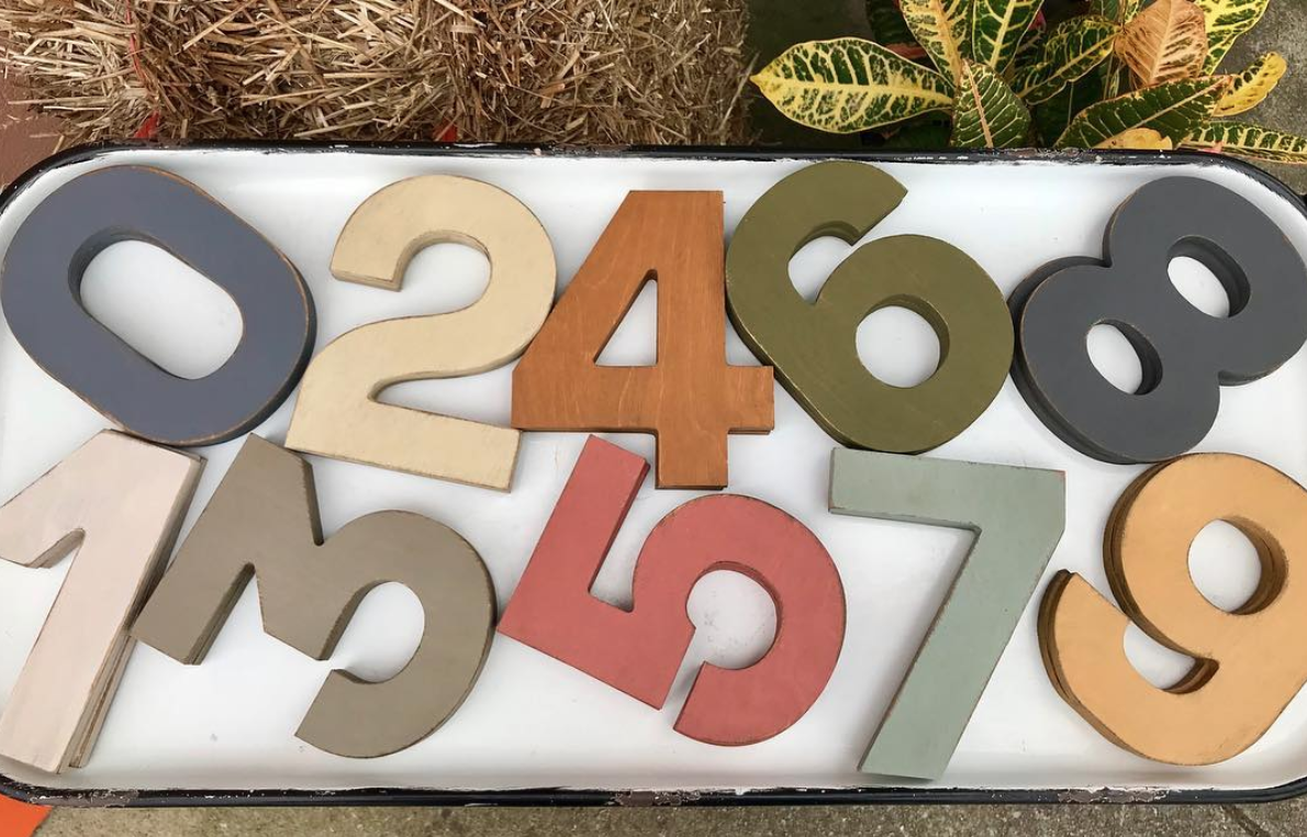 4. Wood Numbers, Antique Traditions - We love this local small business. It's full of unique antiques and handmade items. We love the idea of gifting these numbers to new home owners with the numbers of their new address.location: 109 South Peachtree StreetNorcross, Georgia 30071