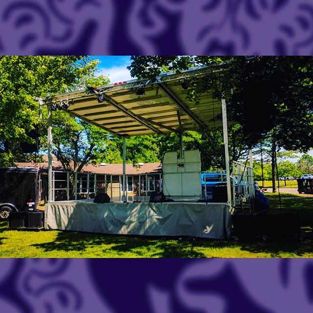 Mobile Stages ...for live events 🎭 . . . . . . . . . . . . . #mobilestage #stageline #sl50 #indigo #indigoproductions #forliveevents #eventprofs #buffalony #buffalo #live #buffaloconcerts #buffalofestivals #festival #wny #buffalony #nys #parks