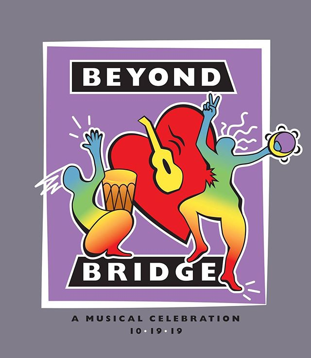SAVE THE DATE⚡️🗓The Third Annual Beyond Bridge Musical Celebration is set for Saturday, October 19, 2019 at @thelomaclub 🎶 LINEUP TBA 🎶