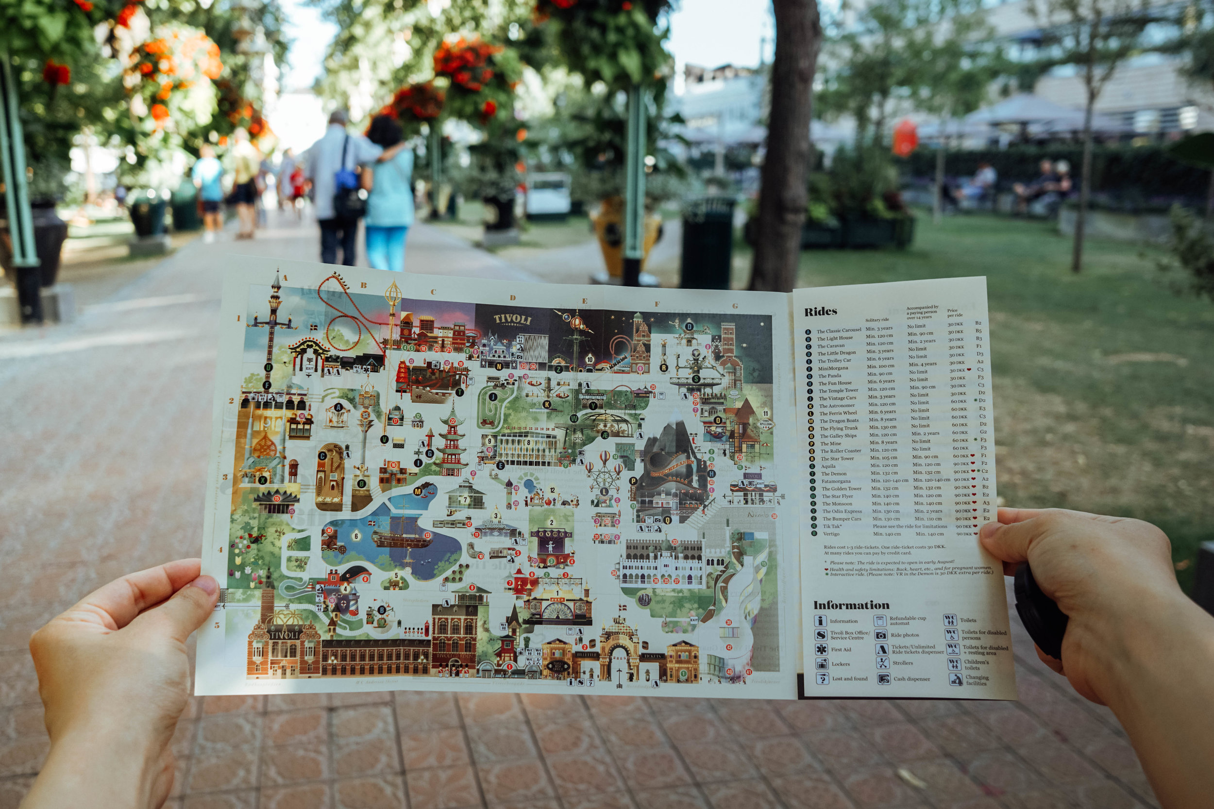 A map of Tivoli!