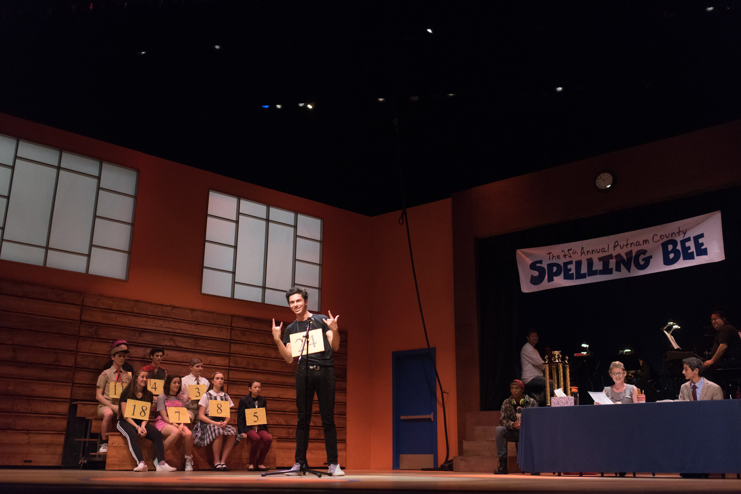 The 25th Annual Putnam County Spelling Bee   at Chaminade College Prep  Photo by Cliff Fong
