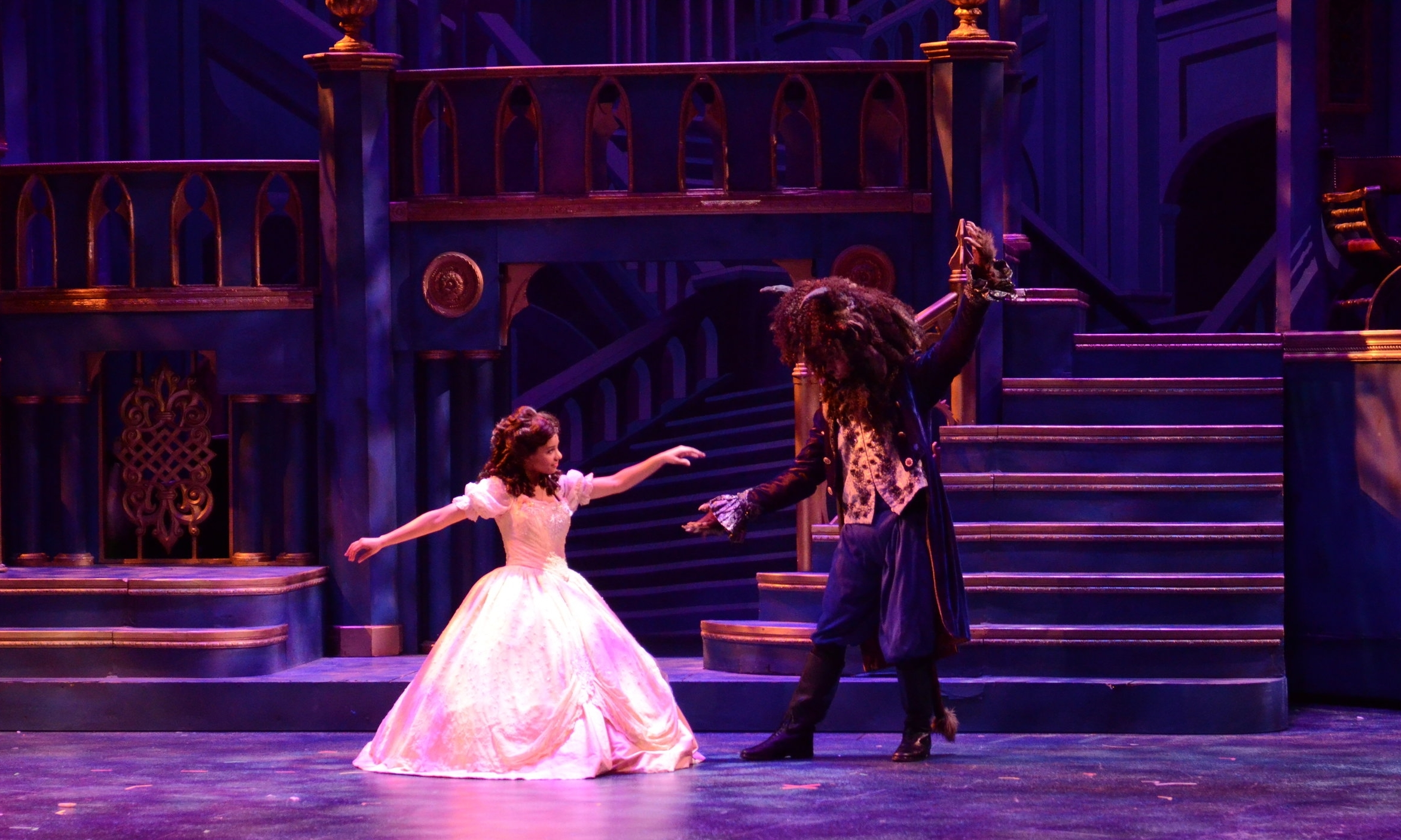 Beauty and The Beast  at Chaminade College Prep