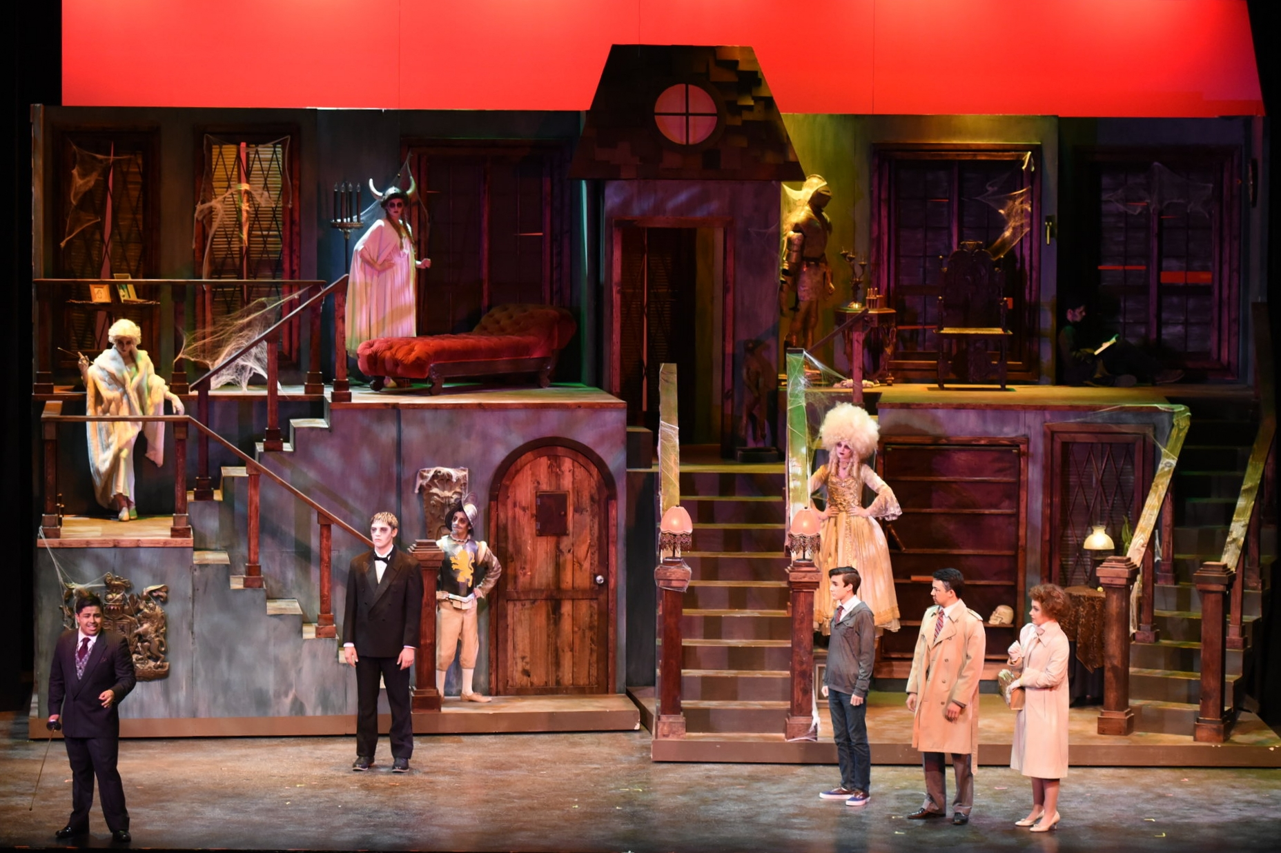 The Addams Family   at Chaminade College Prep  Photo by