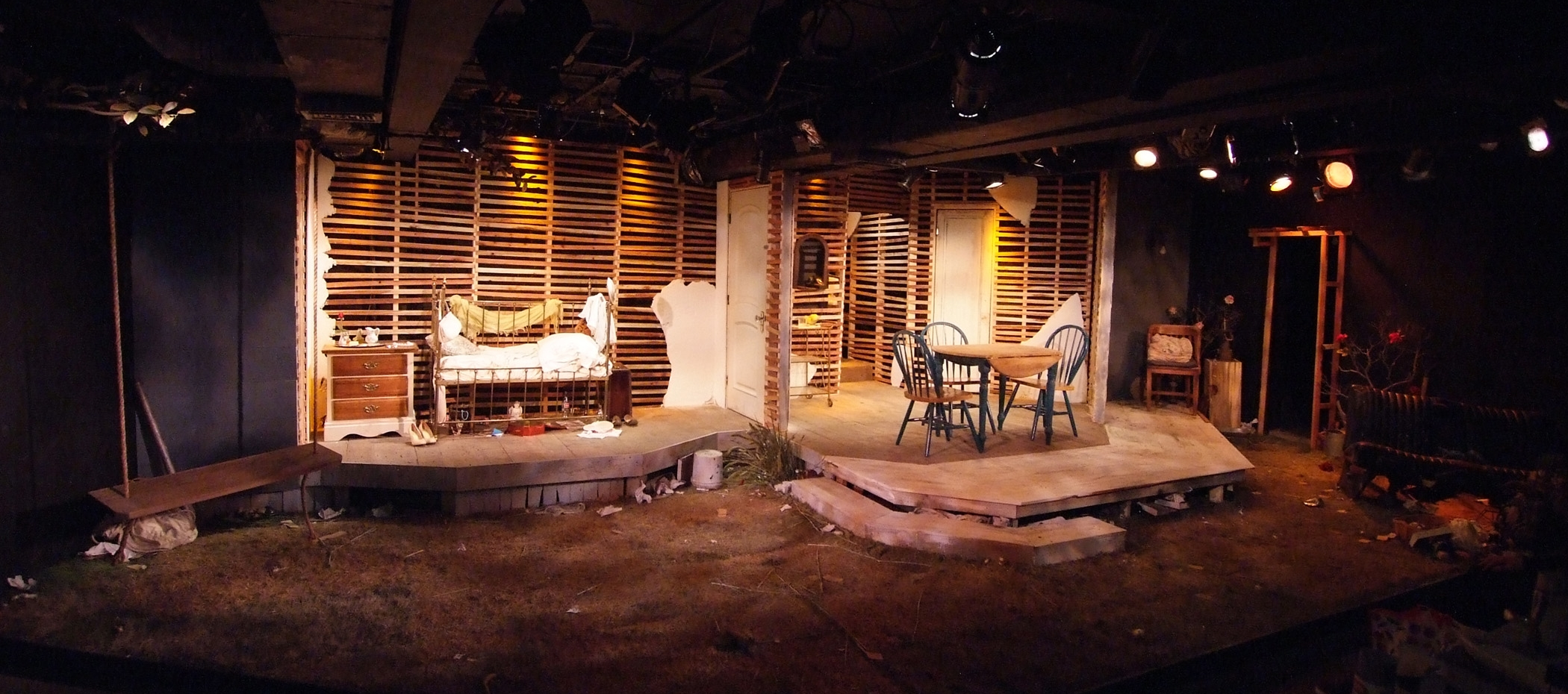 Tennessee Williams'  Baby Doll   at The Fountain Theatre   Photo by Ed Krieger