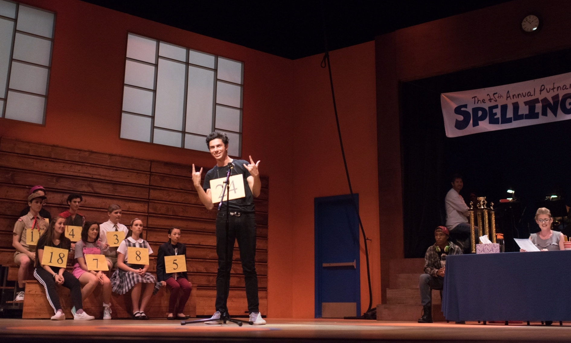 The 25th Annual Putnam County Spelling Bee  at Chaminade College Prep