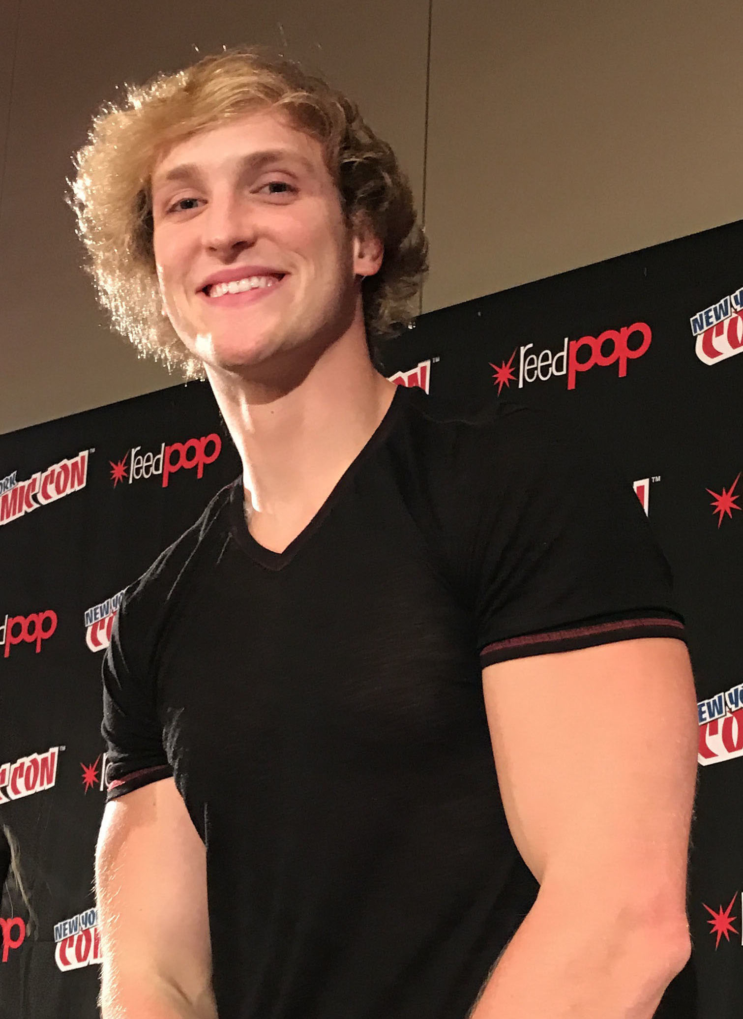 Logan Paul  - Click here for more details of the Aokigahara forest Incident involving Logan Paul (YouTuber)