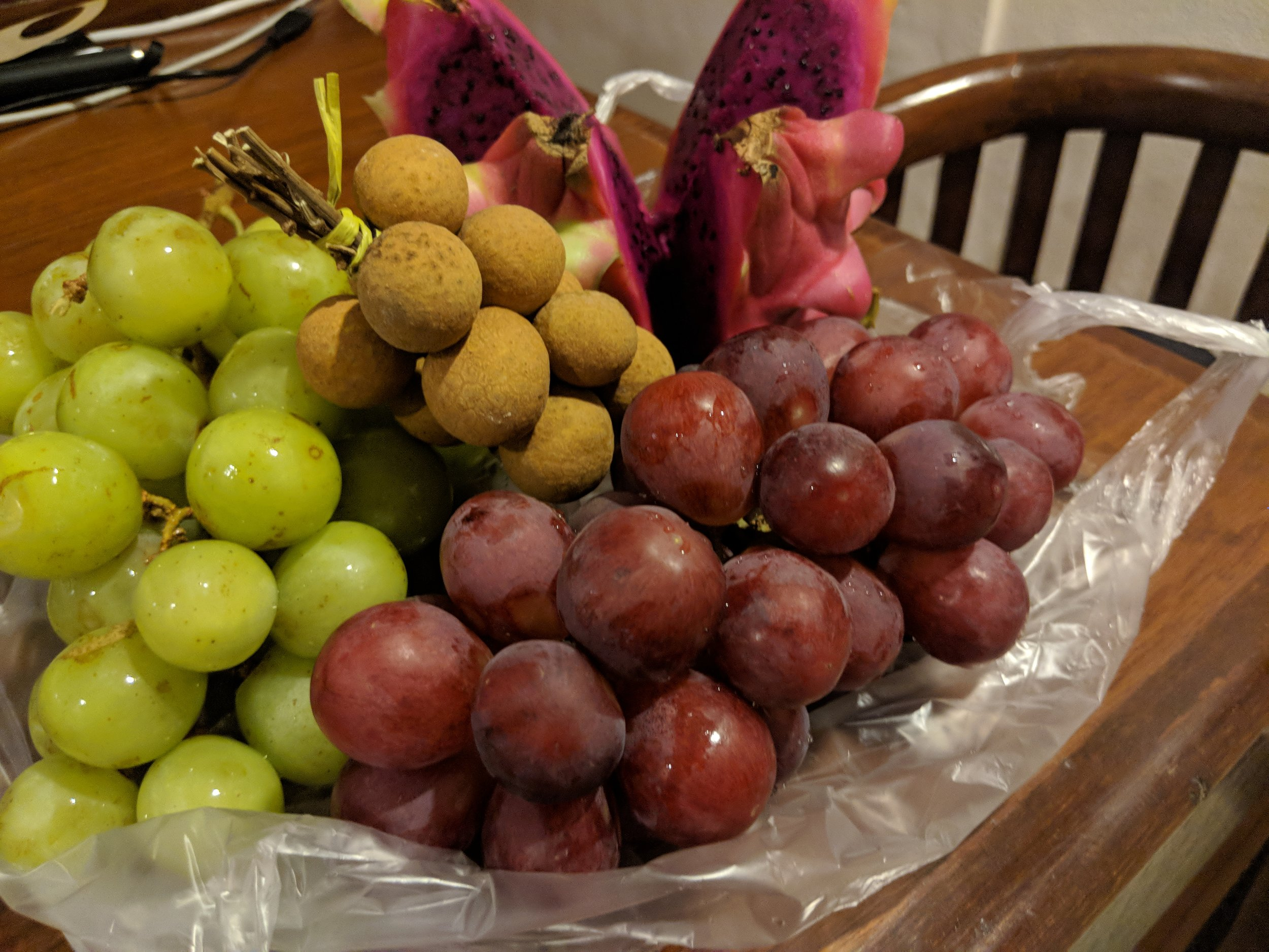 Some Fresh Fruits - From the morning market!