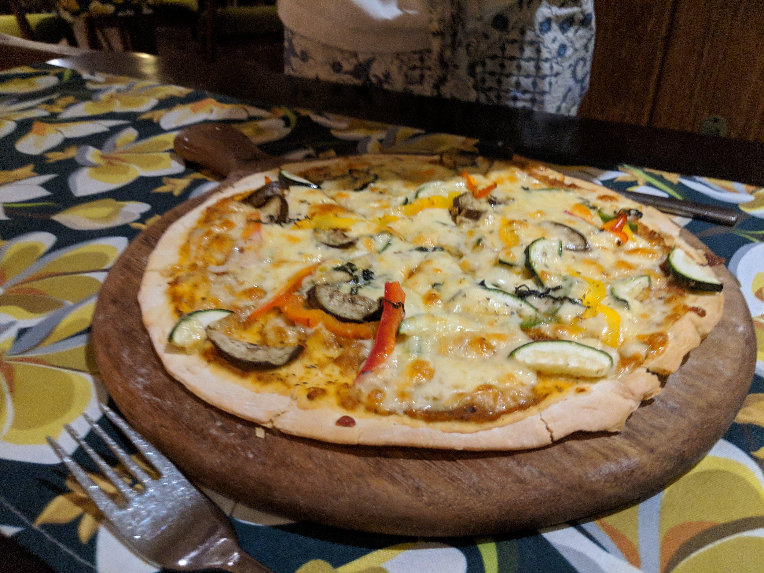Customized veg Pizza