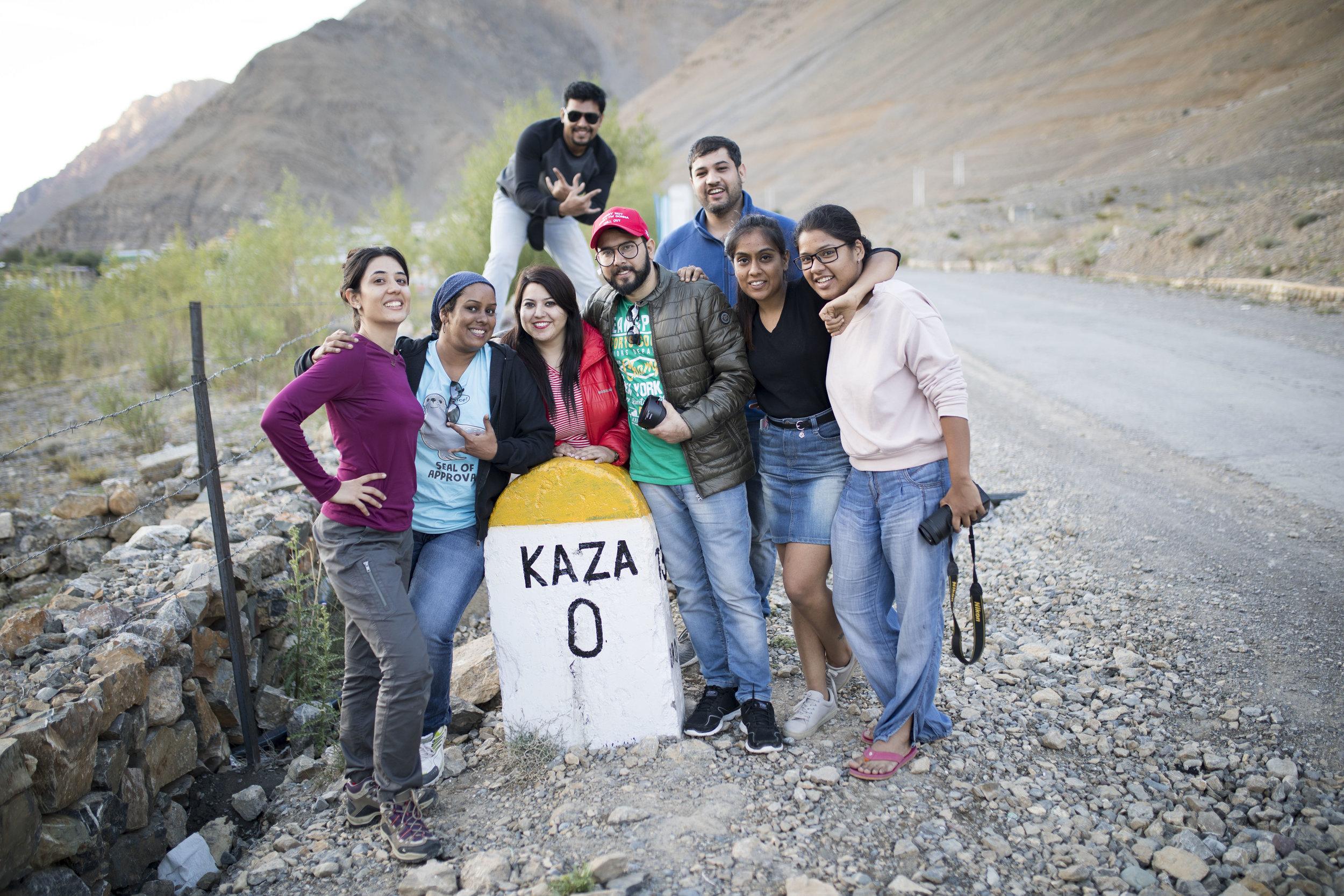Kaza Milestone: Group Trip with Tripver Community
