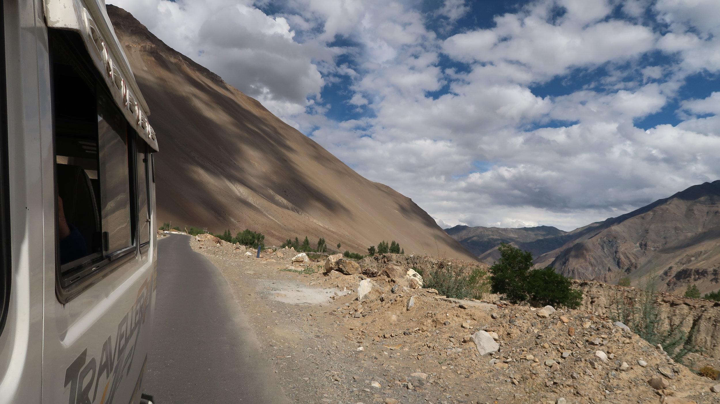 Roads of Spiti Valley