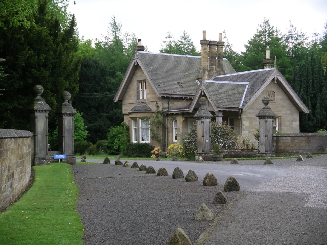 Spear Gates and Lodge (1874)