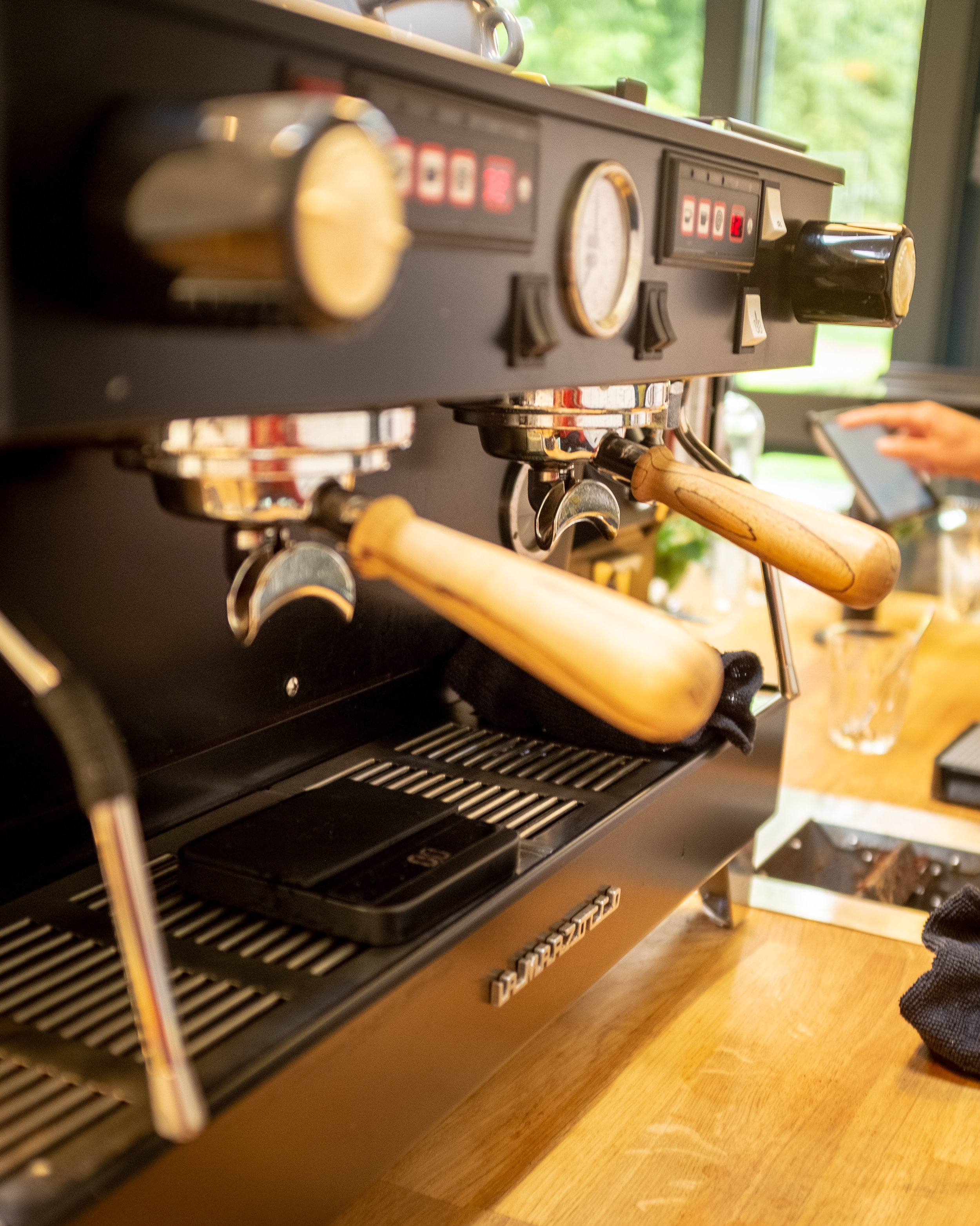COFFEE - We use locally roast, single origin coffee beans. Our speciality coffee is made using tried and tested brewing fundamentals with the best equipment and the estate's filtered spring water from the Pentland Hills.