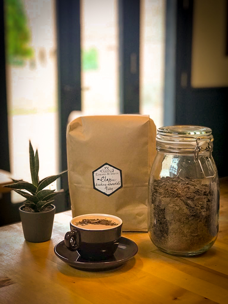 TEA & HOT CHOCOLATE - If coffee's not your thing, we have a fantastic range of ethically sourced teas from Edinburgh based PekoeTea. We also have an outrageously indulgent hot chocolate from local chocolatier Edward & Irwyn.
